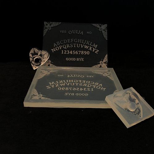 Ouija Board 18cm mit  Planchette Silikonform