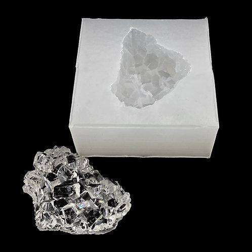 Kristall Druzy Cluster Silikonform