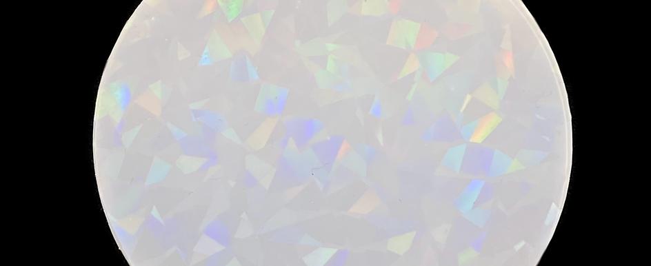 Holo Druzy Kristal Inlay  Einlegematte