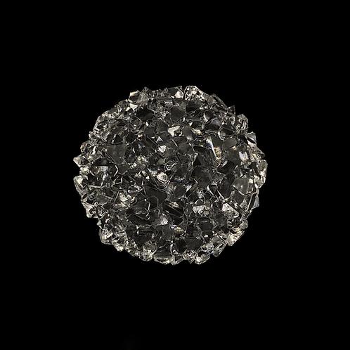 Kreis Kristall Druzy Silikonform