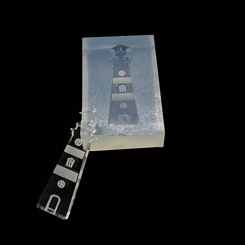 Kleiner Leuchtturm Silikonform