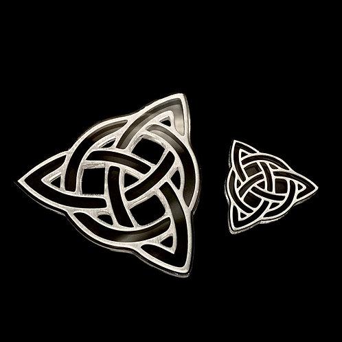 Keltischer Triquetra Knoten Silikonform
