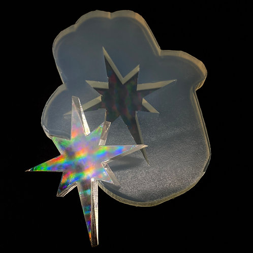 Sparkle Stern Silikonform Special Effect