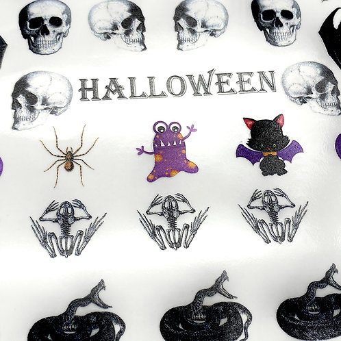 Halloween HDR Sticker Folie