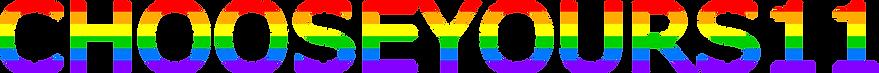 Rainbow logo Chooseyours11.png