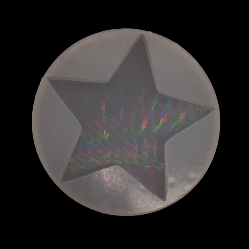 10cm Stern Silikonform Special Effect