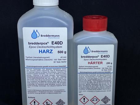 Epoxidharz, nicht einfach nur loswerkeln ;)