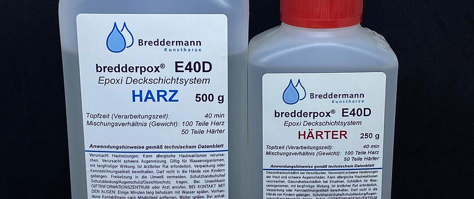 Epoxidharz glasklar (Resin) | E40D