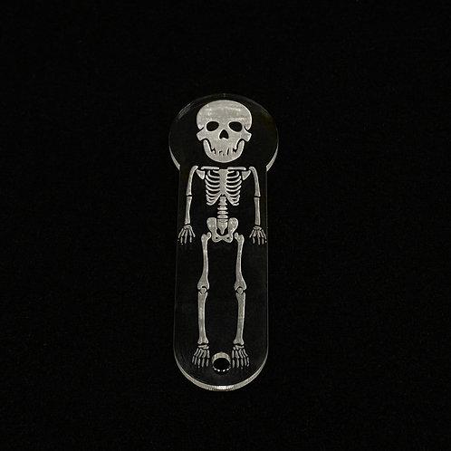 Einkaufswagenchip Skelett Silikonform