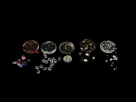 Kann man Kristalle eingießen?
