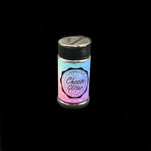 Glitter pure black Extra fein 80ml