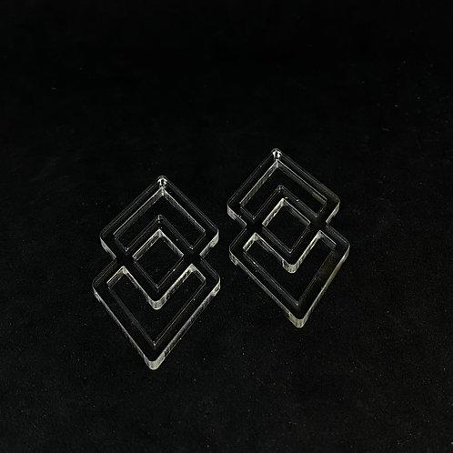 Geometrische Ohrring Silikonform