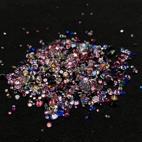 Resin Gems feiner Mix Color Maxipack