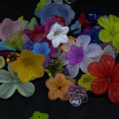 Blütenkelche mix 15Stück
