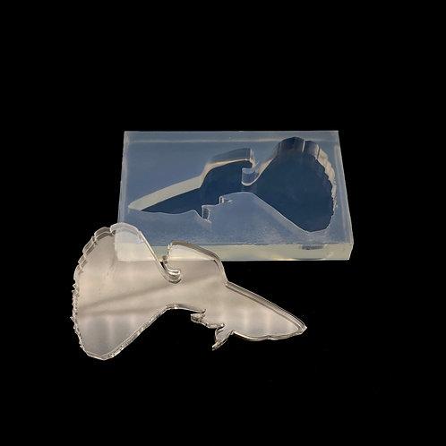 Guppy Fisch Silikonform