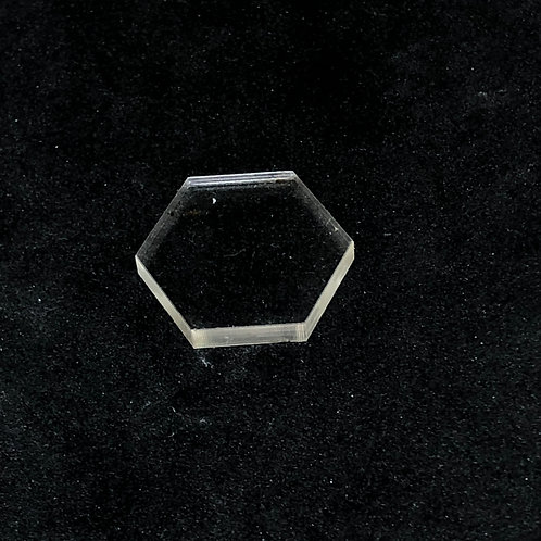 Mini Sechseck Rohling