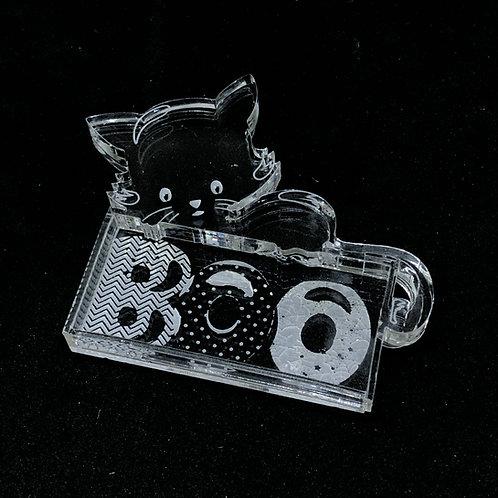 Katze Boo Shaker Silikonform