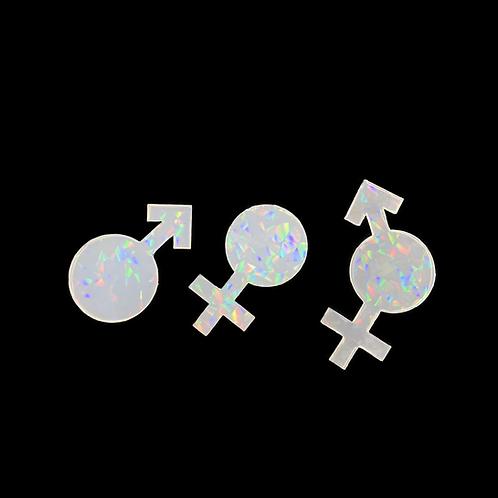 Holo Druzy Inlay silikonform  Geschlechter