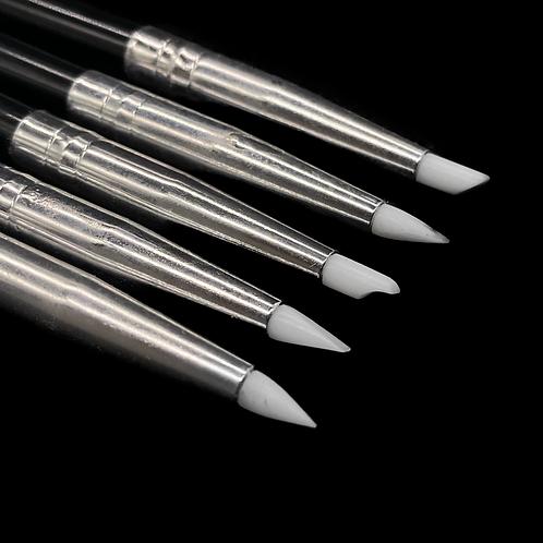 5 feine Silikonwerkzeuge