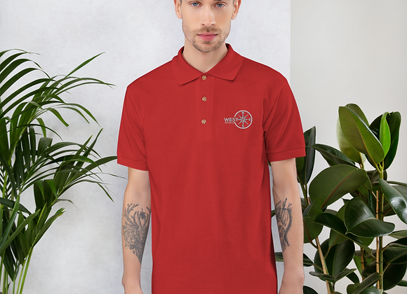 Embroidered WestWorld Logo Polo Shirt