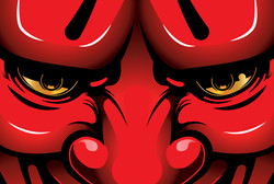 Red Hannya