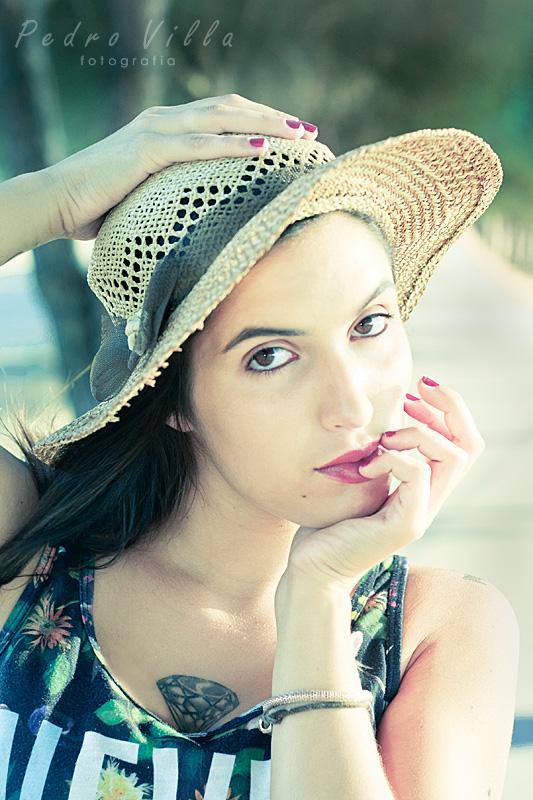 Chapéu e glamour