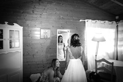 Final dos preparativos da noiva