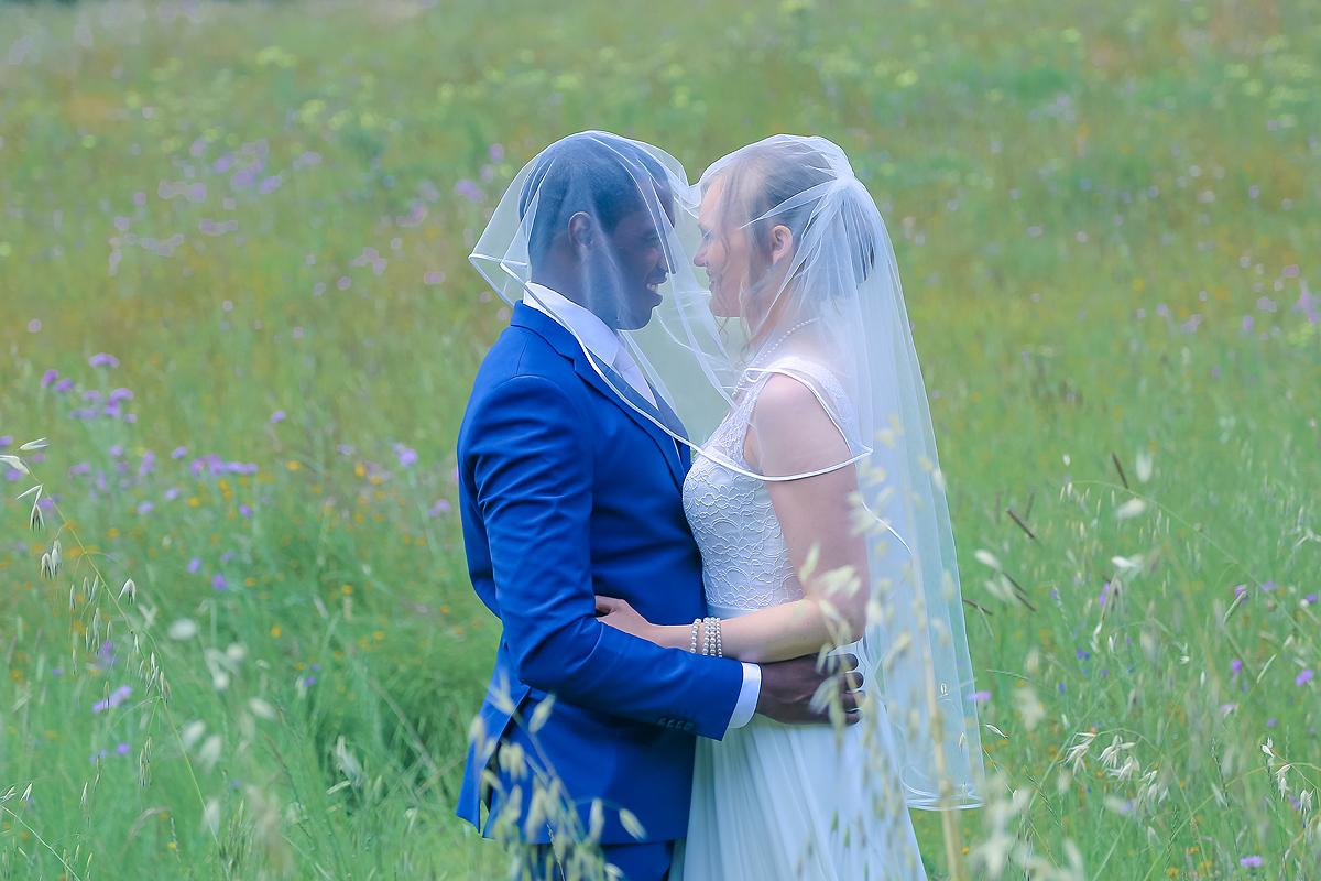 O véu dos noivos