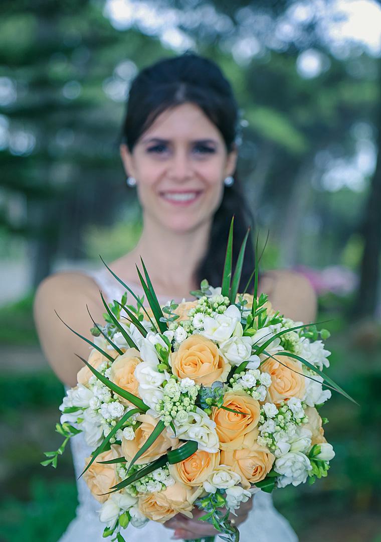 Noiva e Bouquet