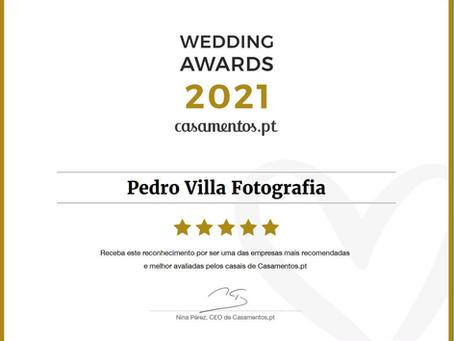 Weddings awards 2021 - casamentos.pt