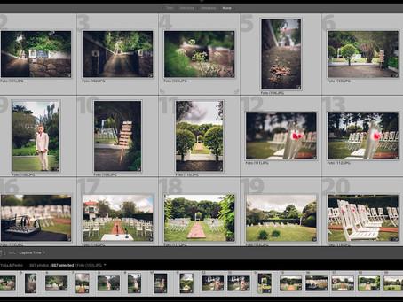 Edição das fotos Casamento Yulia & Pedro