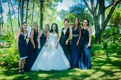 Damas de honor da noiva