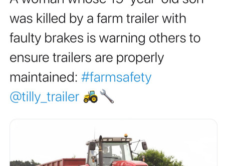 We are delighted to be guests of IOSH on Monday. Talking trailer safety of course.