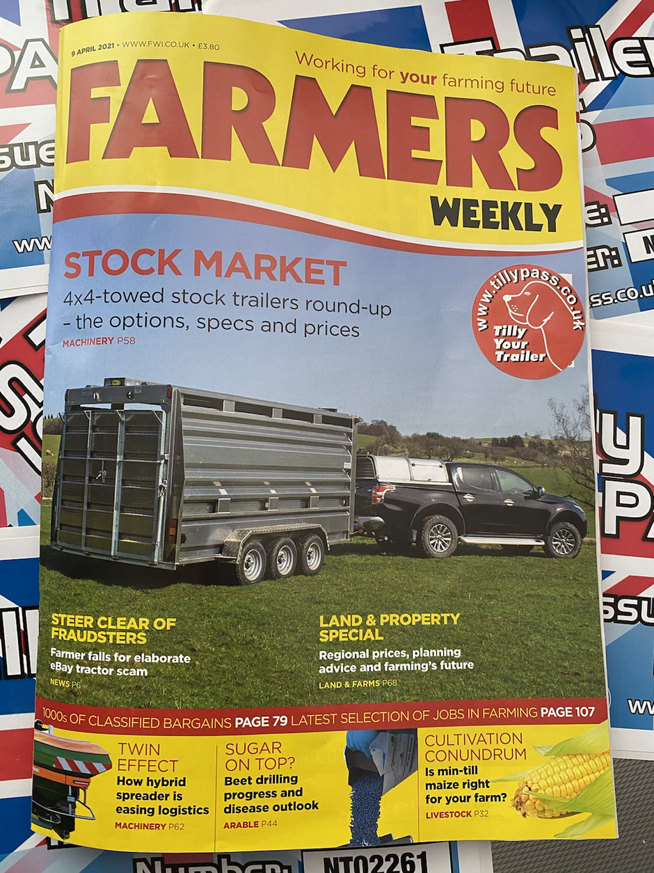 Tilly Pass gets a shout out in Farmers Weekly.