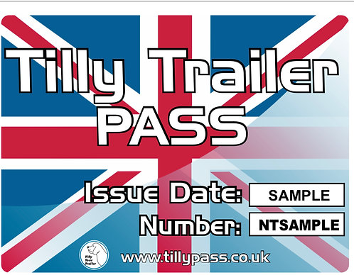 5 New Trailer, Tilly Pass certificates