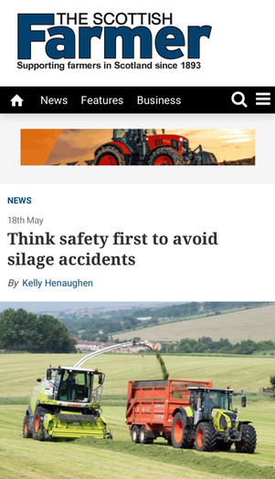 Farmers across Scotland are talking trailer safety.