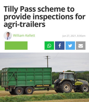 The Tilly Pass Campaign within Ireland continues to grow.