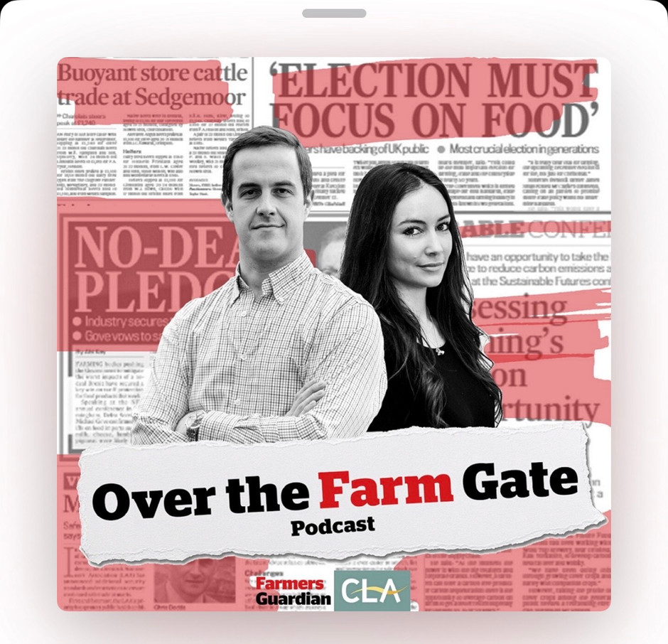 The Farmers Guardian chat to the Tilly Pass over the Farm gate.