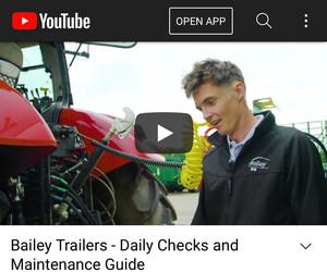 Bailey Trailer NEW Dailey Checks and Maintenance Guide @ #HeadtoTow App