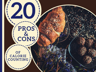20 Pros and Cons of Counting Calories