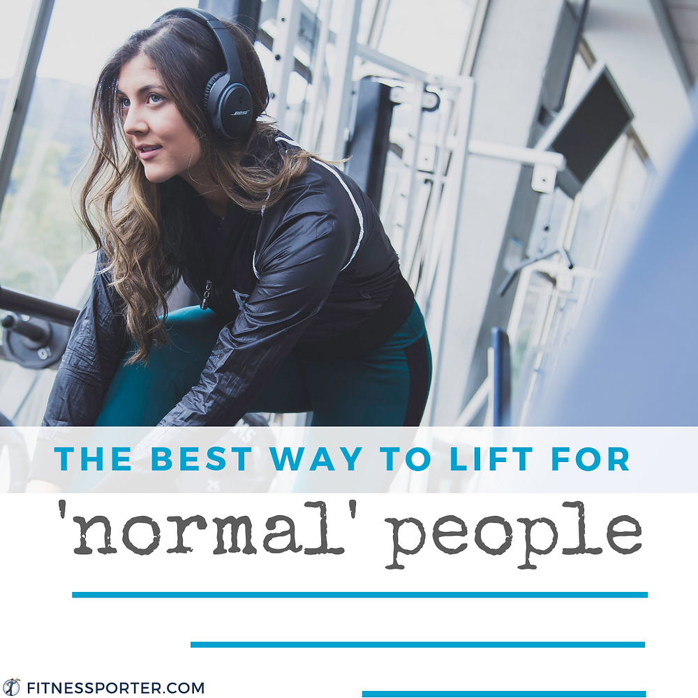 The best way to lift for normal people — woman in gym.