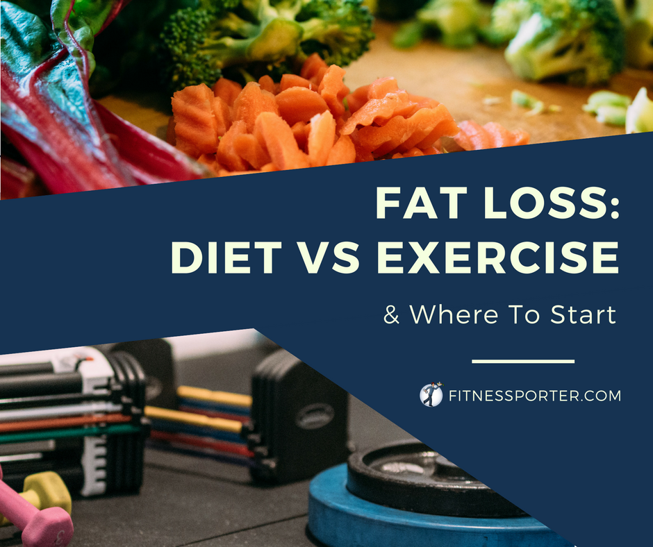 Fat Loss: Diet vs Exercise
