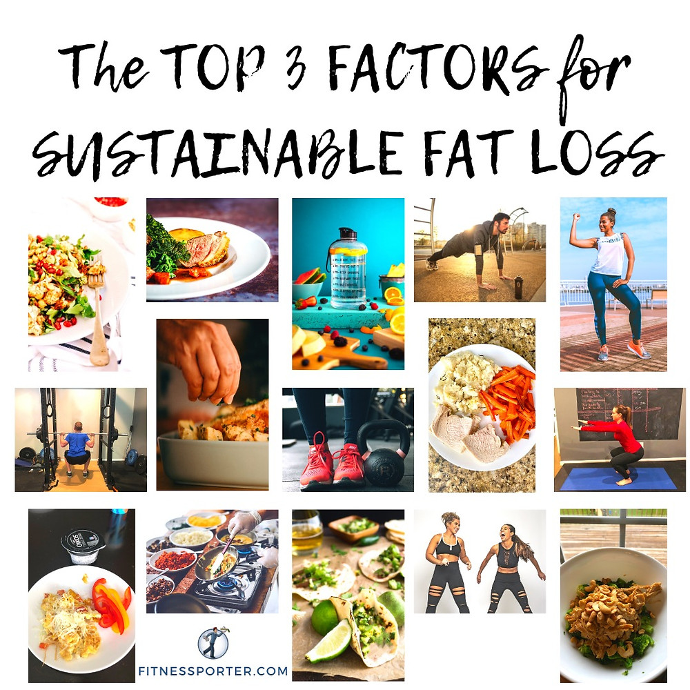 Top 3 Factors for Sustainable Fat Loss