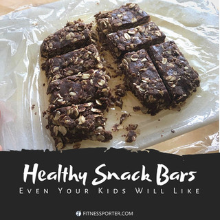 Healthy Snack Bars Even Your Kids Will Love