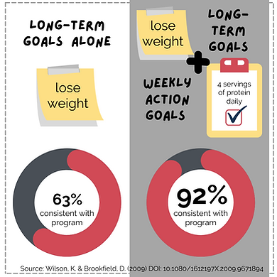Weekly Action Goals