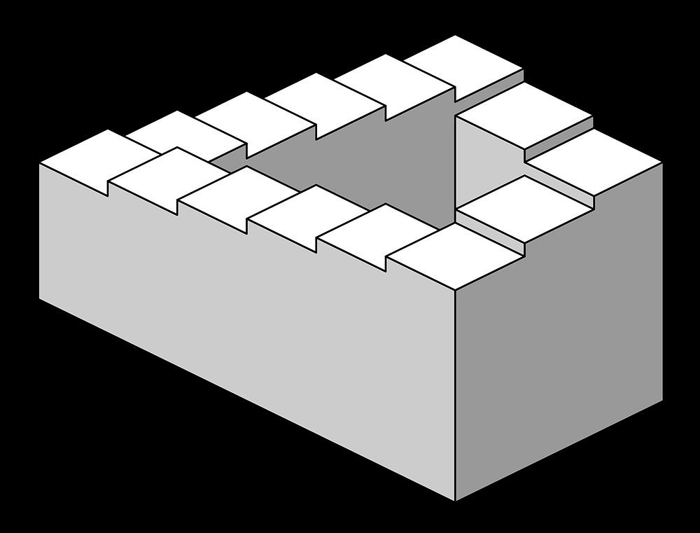 Penrose stairs