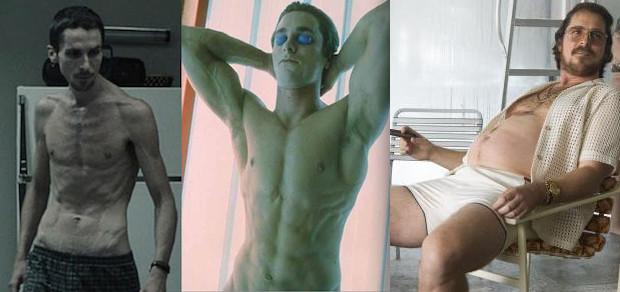 Emaciated Christian Bale