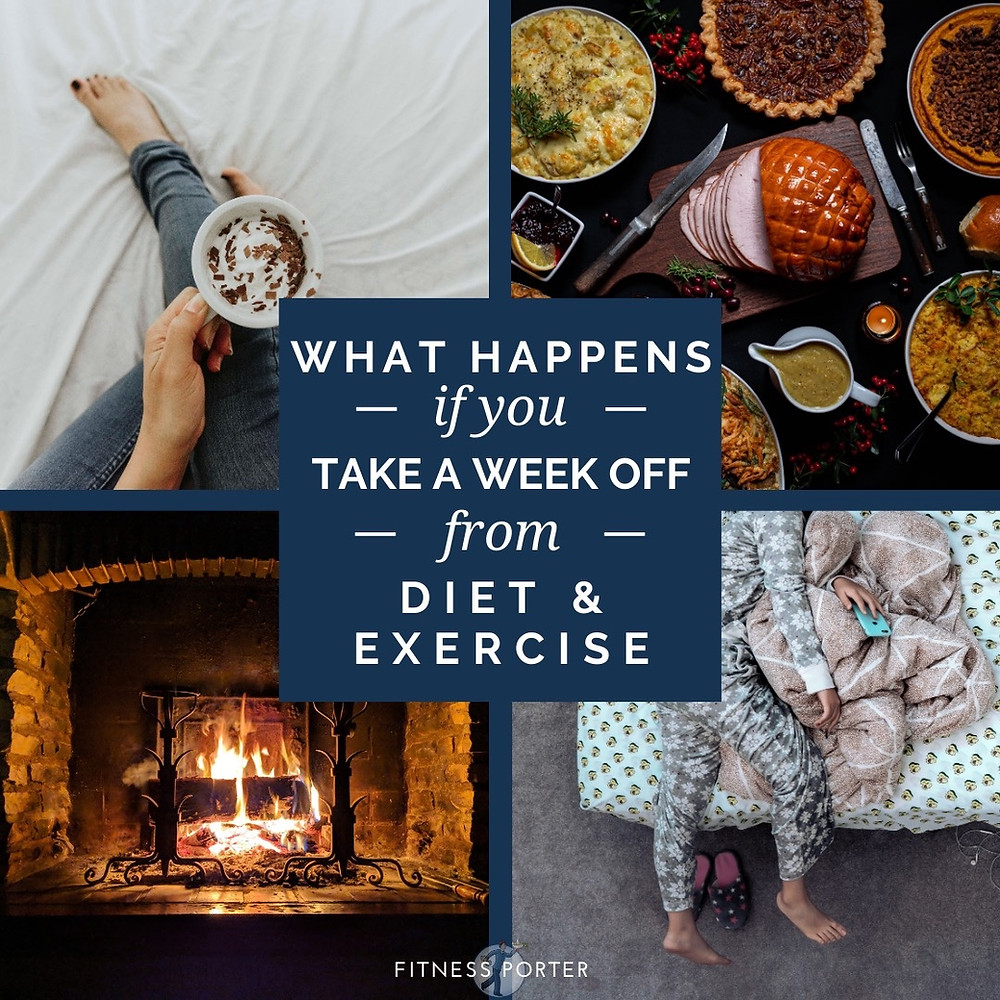 What happens if you take a week off from diet and exercise