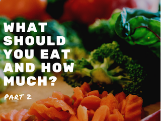 What Should You Eat and How Much? Part 2