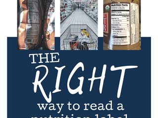 The Right Way to Read Nutrition Labels